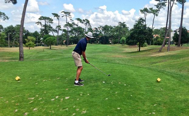 cours golf hendaye